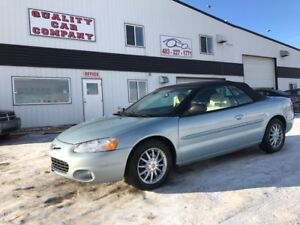 2001 Chrysler Sebring Limited Convertible Only $4650!!!