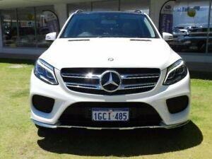 2016 Mercedes-Benz GLE350 W166 d 9G-TRONIC 4MATIC White 9 Speed Sports Automatic Wagon