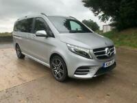 2019 19 Mercedes-Benz V220 Long AMG Line 8 seat leather sat nav sunroof cameras