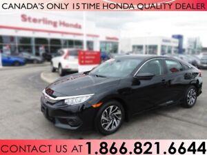 2017 Honda Civic Sedan EX | HONDA CERTIFIED | 1 OWNER | NO ACCID