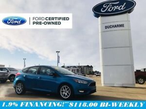 2015 Ford Focus SE Plus, R/Start, Heated Seats, 1.9% Financing!