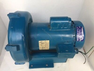 Egg Rotron R607999b Regenerative Blower 1 Hp 115230v 3450 Rpm Blower