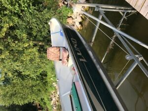 2006 Lund Boat + 2017 Evinrude Motor for sale