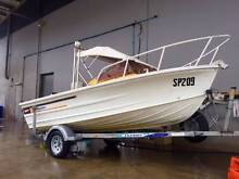 QUINTREX LAZEABOUT 4.5m with 2007 MECURCY 50hp Buderim Maroochydore Area Preview