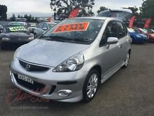 2006 Honda Jazz MY06 VTi Silver 7 Speed CVT Auto Sequential Hatchback Lansvale Liverpool Area Preview