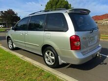 2003 Mazda MPV LW10J2 Silver 5 Speed Automatic Wagon North Brighton Holdfast Bay Preview