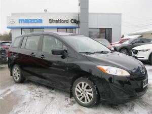 2012 Mazda Mazda5 GS LOCAL TRADE! ONE OWNER!