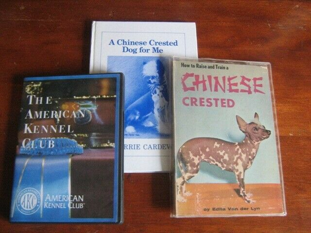 Chinese Crested Dog Books & DVD