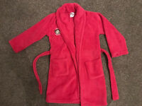 Girls Dressing Gown Cheeky Monkey Age 3-4