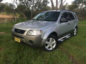 2006 Ford Territory SY TS (RWD) Silver 4 Speed Auto Seq Sportshift Wagon Coonamble Coonamble Area Preview