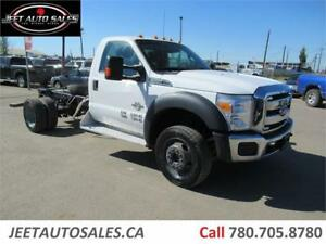 2012 Ford Super Duty F-550 DRW XLT, Reg cab 4*4