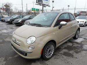 FIAT 500 LOUNGE 2012 ( BLUETOOTH, TOIT OUVRANT )