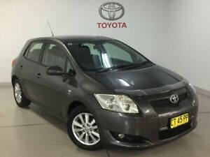 2009 Toyota Corolla ZRE152R Conquest Grey 4 Speed Automatic Hatchback