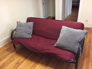 Futon (Double Bed Foldout)