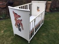 Vintage Cot from 1950's.