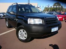 2003 Land Rover Freelander 02MY SE Black 5 Speed Sports Automatic Wagon East Bunbury Bunbury Area Preview