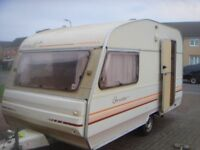 perle custom avondale 2 birth caravan 1992