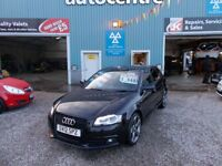 AUDI A3 2.0 SPORTBACK TDI S LINE SPECIAL EDITION 5d 138 BH (black) 2012