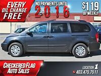 2012 Kia Sedona LX Plus W/ Heated Seats-Low KM's-BU Sensors