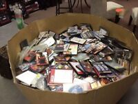 1000'S OF DVD'S- MOVIES, HIT TV SERIES- $0.25 EACH