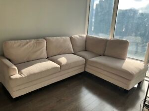 STRUCTUBE  - SECTIONAL L-SHAPED COUCH