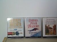 3 x audio books
