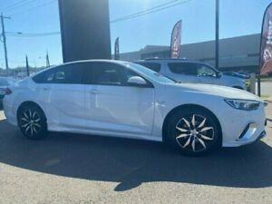 2018 Holden Commodore ZB MY18 RS Liftback White 9 Speed Sports Automatic Liftback Cardiff Lake Macquarie Area Preview