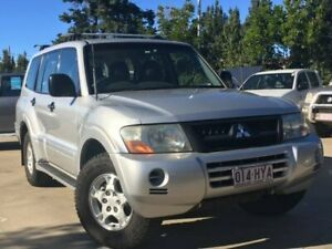 2003 Mitsubishi Pajero NP GLS Silver 5 Speed Sports Automatic Wagon South Toowoomba Toowoomba City Preview