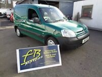 Citroen Berlingo 2.0 HDi 800TD LX Panel Van 3dr (psv sept 17)