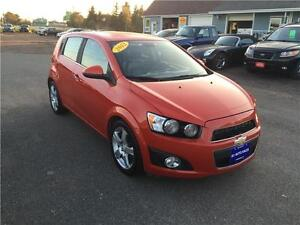 2012 Chevrolet Sonic LTZ TURBO  MUST SEE BEAUTIFUL CAR FULLY LOA