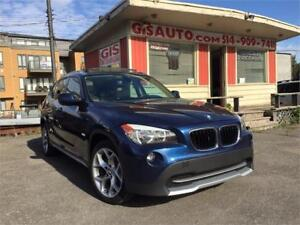 """2012 BMW X1 28i Sport Toit Panoramique mags 18"""" vrai cuir"""