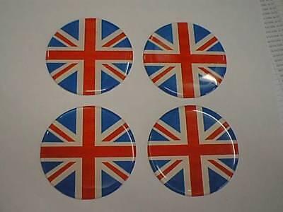 MINI Scotland Scottish St Andrew Flag Alloy Wheel Centre Badge Caps 50mm