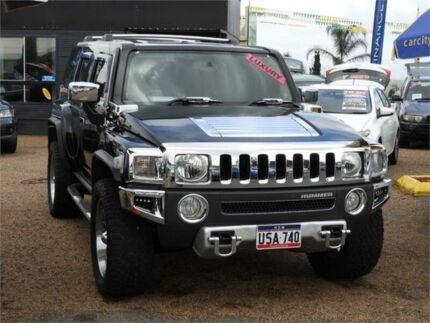2007 Hummer H3 Luxury Black 4 Speed Automatic Wagon