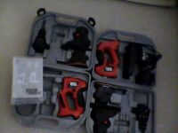 black and decker, quatro,kc 2002f,and kc2000f, UNTESTED.SPARES/REPAIR.£20.07778055133