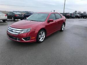 2011 Ford Fusion SPORT ONLY 112KM AWD LEATHER NAVI ROOF