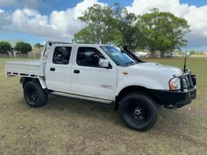 2013 Nissan Navara D22 S5 ST-R White 5 Speed Manual Utility Kempsey Kempsey Area Preview