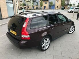 Volvo V50 2.0 D SE 5dr,2006,Estate,1 OWNER,FULL SERVICE HISTORY,HPI CLEAR,PRIVACY GLASS,SUNROOF