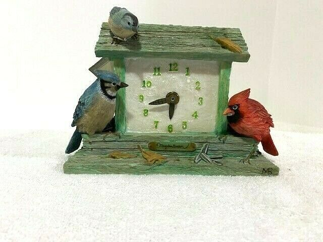 Hallmark Marjolein Bastin Birdhouse Clock