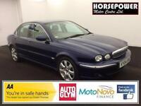 2004 Jaguar X-TYPE 2.5 V6 SE (AWD) 4dr Petrol blue Automatic