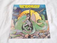 Vinyl LP From Here To Eternally Spinners (US Atlantic SD 19219 Stereo 1979