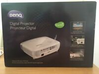 Benq W1110 Digital Projector for sale - hardly used and boxed