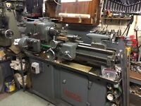 Harrison Lathe L5 and Myford vertical miller