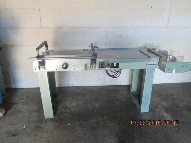 WELDOTRON MODEL 6302 SEMI AUTOMATIC  L-BAR SEALER / SHRINK WRAPPING MACHINE