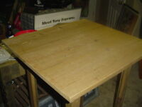 REFINED RUSTIC PINE PUB TABLE,  FREE LOCAL DELIVERY
