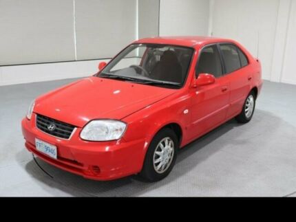 2005 Hyundai Accent LS 1.6 4 Speed Automatic Hatchback Invermay Launceston Area Preview