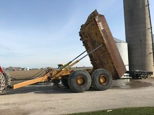 Offroad dump trailer for sale or rent & moxy MT30 rock truck