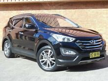 2012 Hyundai Santa Fe DM Elite CRDi (4x4) Black 6 Speed Automatic Wagon Baulkham Hills The Hills District Preview