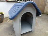 Outdoor small dog kennel