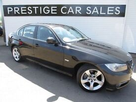 BMW 3 SERIES 2.0 318D EXCLUSIVE EDITION 4d 141 BHP (black) 2011