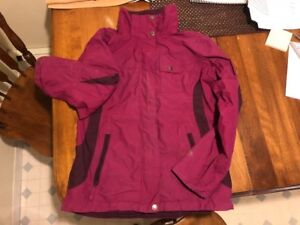 Women's Pink Columbia Jacket - Size Small - Great Condition